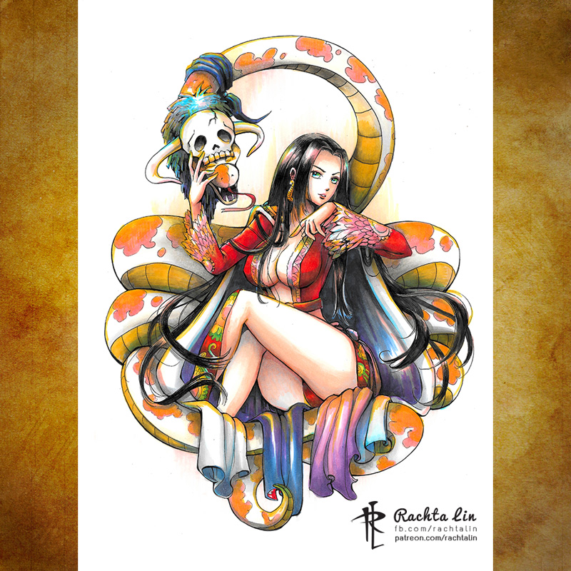 Boa Hancock Rachta Lin A Multi Disciplinary Artist