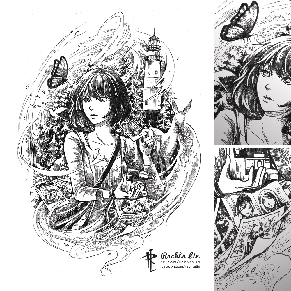 Weird Black And White Art : Life is strange rachta lin a multi disciplinary artist